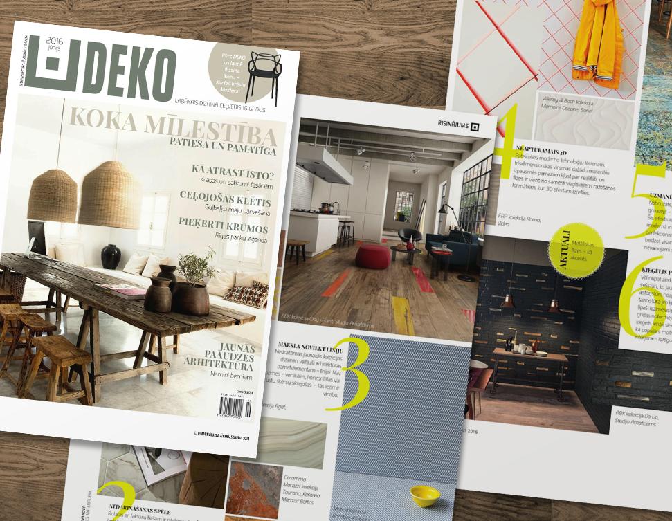 Studija Amatciems published in Deko