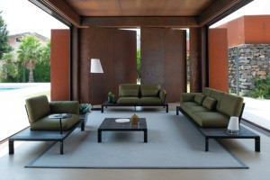 New collections for outdoor furniture