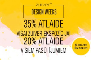 Zuiver design week!