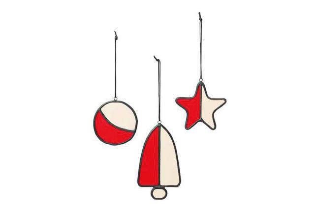 Ziemassvētku rotājums - mozaīka