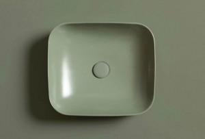 Over-counter washbasin Salvia-Sage Colors 1250